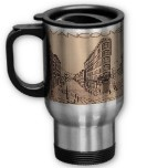 VANCOUVER TRAVEL MUG CUPS MUGS GLASSES & TRAVEL MUGS