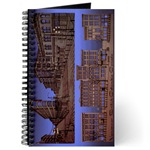 Vancouver Souvenir Journal Notebook Illustration