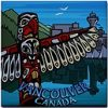 Vancouver Canada Souvenir Coasters, Fridge Magnets, Greeting Cards, postcards, & More! Vancouver Canada Gifts for Home & Office. Cool Vancouver Art Souvenirs