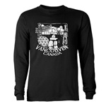 Vancouver Souvenir Long Sleeve Dark T-Shirt