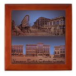 Vancouver Souvenir Wood Keepsake Box Vancouver Art Souvenirs & Gifts for Home & Office