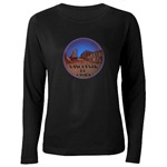 Vancouver Souvenir Womens Long Sleeve Dark T-Shirt