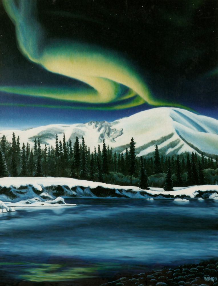 LANDSCAPE PAINTINGS BY CANADIAN ARTIST KIM HUNTER / INDIGO ...